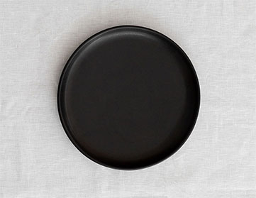 Black Crockery